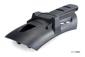Capot d'outil de fixation : pièce technique avec contraintes d'aspect