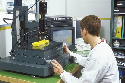 Réalisation de rapports de métrologie avec machine de mesure tridimensionnelle vidéo